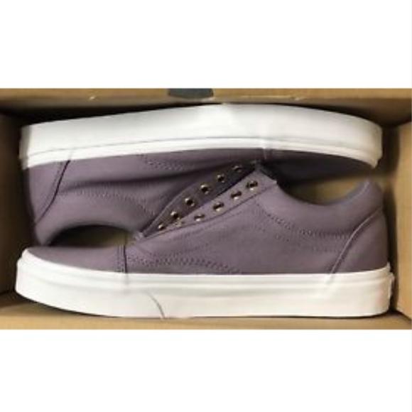 53b81e0ec7 Vans Old Skool Gold Eyelets Grey Ridge Shoes